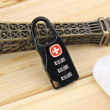 Alloy Cross Combination Lock Code Number for Luggage Bag Drawer Cabinet UL