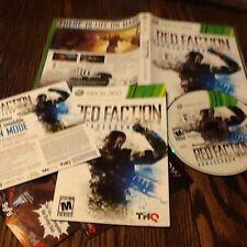 Red Faction: Armageddon (Microsoft Xbox 360, 2011) USED FREE USA SHIPPING FUN