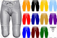 Alleson Athletic Dazzle Game Adult Men's Football Pants W/O Pads 640SL