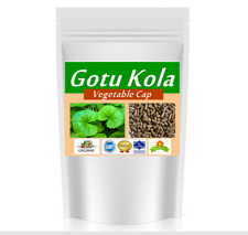 500 capsules@500 mg Gotu Kola Leaf (Centella Asiatica) nourish the brain