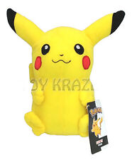 "PIKACHU SOFT PLUSH! SMALL YELLOW DOLL LICENSED TOY POKEMON LICENSED 7"" NWT"