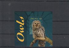 Palau 2014 MNH Owls 1v S/S I Birds Ural Owl