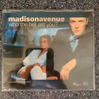Madison Avenue - Who The Hell Are You Maxi CD Single Remixes 2000 3 Tracks