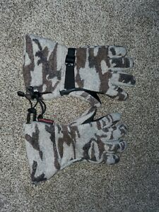 King Of The Mountain Wool Camo Guide Gloves XL