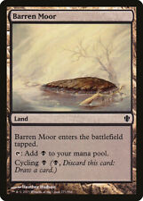 Barren Moor Commander 2013 NM Land Common MAGIC THE GATHERING CARD ABUGames