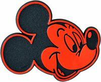 Auto Aufkleber Relief 3D Emblem Schild Micky Maus rot 5 x 4 cm von RICHTER
