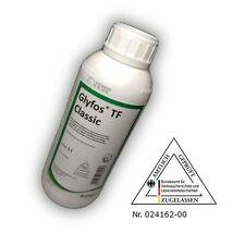 1 L Glyfos Classic TF Glyphosat Roundup Unkrautvernichter Zul. Nr. 024162-00