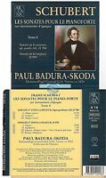 SCHUBERT les sonates pour le pianoforte tome 8 CD ALBUM arcana paul badura skoda