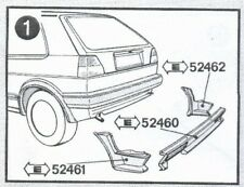 VW Golf Rabbit MK2 Jetta MK2 Original Kamei Rear Spoiler Rare NOS