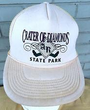 Crater of Diamonds State Park Arkansas VTG Snapback Baseball Cap Hat