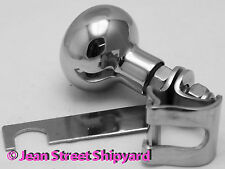 Marine Boat Equipment Stainless Hand Steering Spinner Turning Wheel Suicide Knob