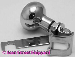 Marine Boat Equipment Stainless Hand Steering Spinner Turning Wheel Suicide Knob