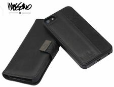 Genuine Mossimo Leather Mag-Latch Wallet for iPhone 6 and iPhone 6S - Black