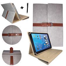 9,7 zoll Tablet Tasche Hülle Case Etui -  samsung galaxy tab s2 - Stylisch Grau