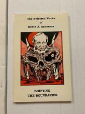 Shifting the Boundaries, Kevin J. Anderson autographed, numbered edition