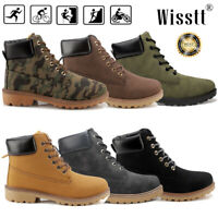 Women Waterproof Lace up Casual Climbing Shoes Sports Outdoor Desert Ankle Boots