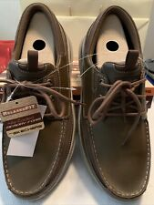 Brown skechers mens relaxed fit air-cooled memory foam size 13 New In Box