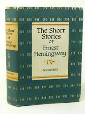 1953 ERNEST HEMINGWAY SHORT STORIES KILIMANJARO MACOMBER TWO-HEARTED RIVER