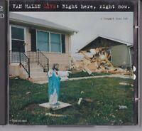 """CD - VAN HALEN LIVE - RIGHT , RIGHT NOW .  """" 2 CD ALBUM """" #I59#"""