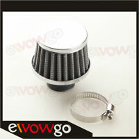 """Universal 25mm 1"""" Cold Air Intake Turbo Vent Crankcase Breather Filter Black"""