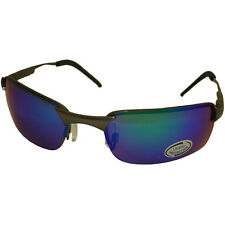 Sport Blue/green Mirror Uv400 Lens United Sunglasses Shades 5046