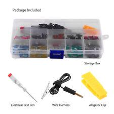 100pcs Car Micro Mini Blade Fuse 3/4/5/7.5/10/15/20/25/30/35Amp Assortment Kit