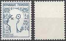 MARIANNE DE COCTEAU N°1282b VARIÉTÉ ROUGE ABSENT NEUF ** LUXE MNH COTE 225€