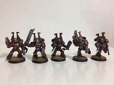 Warhammer 40k Chaos Space Marines Khorne Excellent Painted.