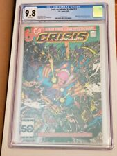 Crisis On Infinite Earths #12 CGC 9.8 White Pages