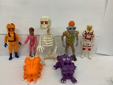 Lot of 7 Vintage The Real Ghostbusters Super Fright Feature Snap Trap Skelington