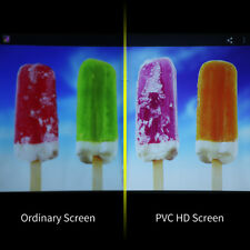 """150"""" 16:9 Collapsible PVC Projector Screen 1080P HD Portable Home Outdoor Hang"""
