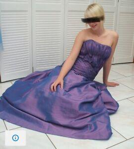 Wunderschönes Ballkleid Abiball Abendkleid Party Gr M Hochzeit Brautjungfer NEU