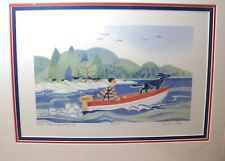 original 97 Limited Edition Rie Munoz signed numbered Bush Transportation print