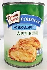 Duncan Hines Comstock No Sugar Added Apple Pie Filling & Topping 20 oz