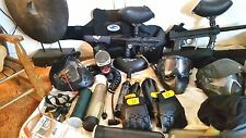 Paintball for 2,Tippman Extreme Rage 32Degree JavaFatBoy Diabl (Inc Vest Belts)