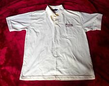 NEW HENBURY MENS PURE COTTON POLO SHIRT PALE YELLOW WITH HIVE LOGO UK LARGE
