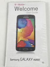 NEW OEM Samsung Galaxy Avant Original Start Guide / User's Manual ONLY - Sealed