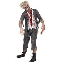 NEW Zombie School Boy - Living Dead High School Halloween Fancy Dress Costume