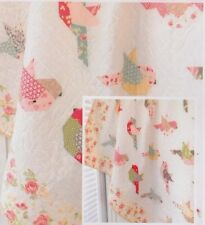 Feathers - pieced quilt PATTERN for bird lovers - The Pattern Basket