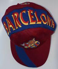 FC Barcelona Football Club Baseball Cap Hat Soccer Adjustable Snapback by CORNER