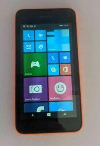 Unlocked Nokia Lumia 530 Microsoft Windows Smart Mobile Cell Phone 4GB Orange