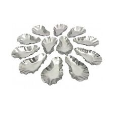 12 Grilling Oyster Shells Stainless Steel Char-Grill New Orleans Cajun Cookware