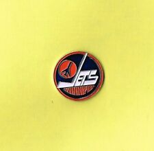 Winnipeg Jets Round NHL Logo Hockey Lapel Hat Pin
