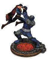 DC Comics Statue Superman vs Darkseid Statue Second Edition Collectible Figure