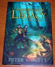 PETER V. BRETT MESSENGER'S LEGACY LIMITED SIGNED LEATHER DEMON CYCLE W/ALT. DJ