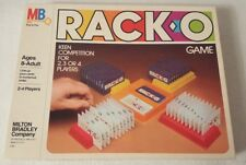 VTG 1980 RACK-O Card Game MB Milton Bradley COMPLETE FUN!