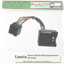 4-Head-6000-804 Ready2Fit Cable for ISO Radio/Lancia Delta,Phedra