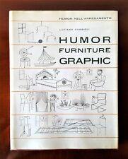 CONSIGLI Luciano, HUMOR FURNITURE GRAPHIC, 1963 Autografo e dedica AUTORE