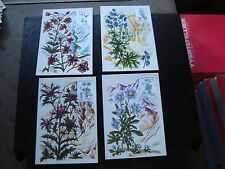 FRANCE - 4 cartes 1er jour 23/4/1983 (flore de france) (cy60) french