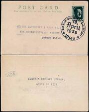 George VI (1936-1952) Used Austrian Stamps